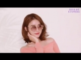 Yoo In Na  Behind the Scene Photoshoot from Anna Sui