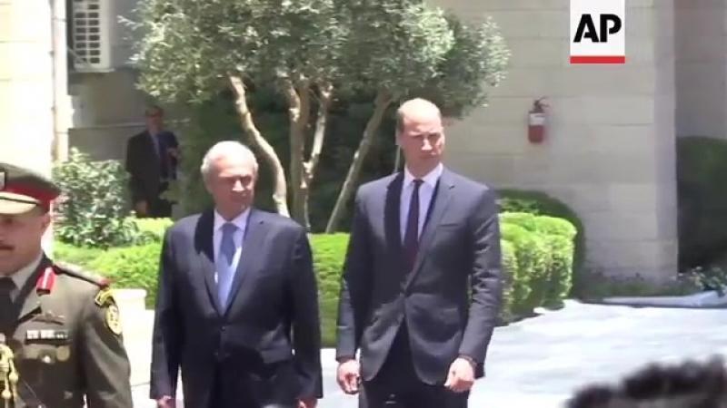 Уильям встретился с главой Палестинской автономии Махмудом Аббасом 27 06 2018