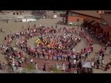 Трогательное видео флешмоба, проводимое в Зоопарке Удмуртии, в поддержку Вторых Международных Парадельфийских игр
