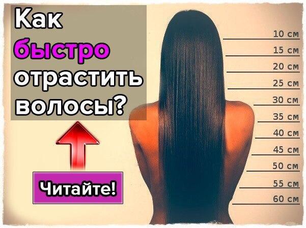 Как быстро отрастить волосы в домашних условиях рецепт