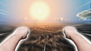 FLYING AROUND THE EARTH AT LIGHT SPEED MEGATON RAINFALL VR 1