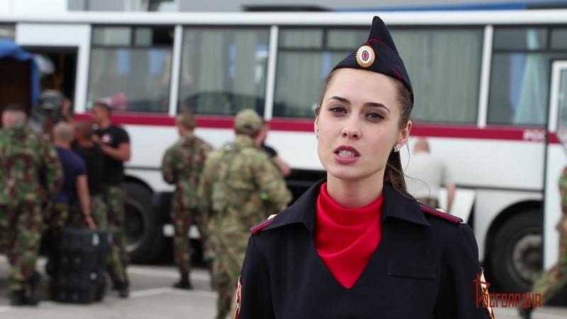 Сводный отряд СОБР и ОМОН Управления Росгвардии по Тульской области вернулся из командировки на Северном Кавказе