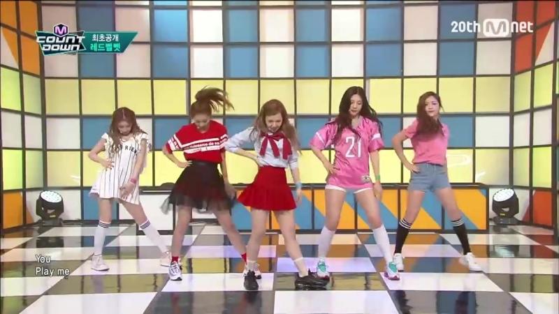Red Velvet(레드벨벳) - Dumb Dumb COMEBACK Stage M COUNTDOWN 150910 EP.442