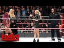 Rusev rudely confronts Sasha Banks Raw, Oct. 10, 2016