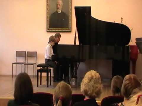 Башкиров Михаил совместное музицирование с членом жюри