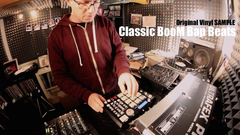 Old School BOom Bap Beats Mpc 500 Original Vinyl Sample (Video)