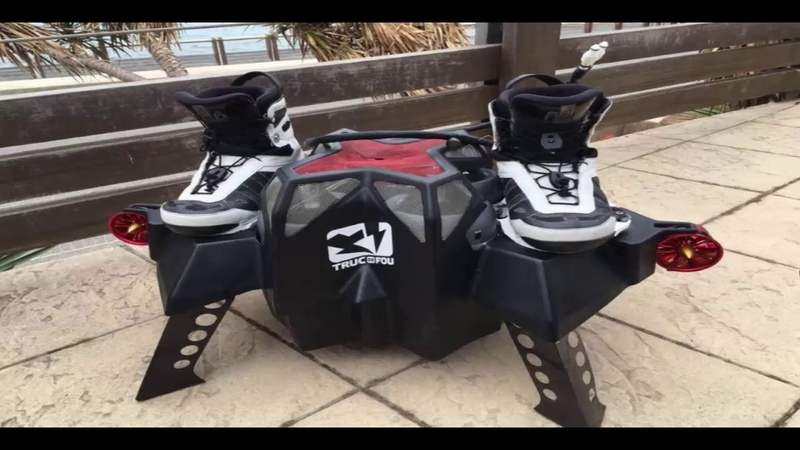 Flyboard Air Farthest flight by Hover Board 2016