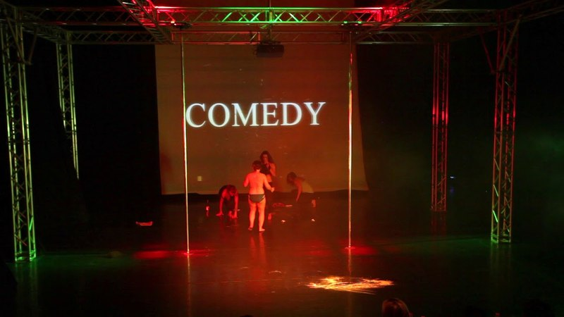 Pole Theatre Hungary 2018 HORVÁTH VERA Semi Pro Comedy winner