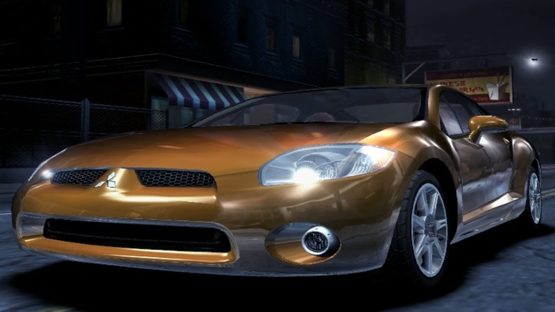 Need for Speed Carbon (2006) | FWD Mitsubishi Eclipse GT V6 3.8 V24 - Test Drive Gameplay [1080p60FPS]