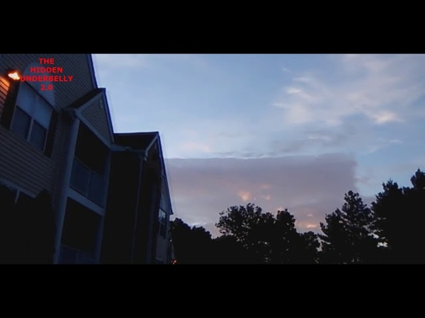 Strange Squared Edge Cloud Spotted Over Richmond Virginia August 15 2018