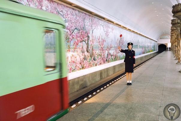 Знакомство с метро Пхеньяна. Ч.-1