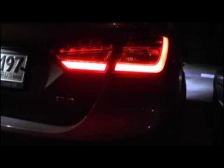 Задние светодиодные фонари Форд Фокус 3 Седан