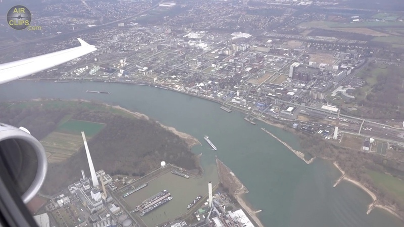 Windy Cologne-Bonn Approach Landing today Lufthansa Airbus A321, 28 March 2018 [AirClips]
