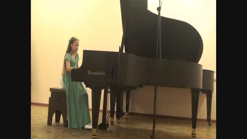 Мария Варакина М Глинка Вариации на тему Соловей А Алябьева
