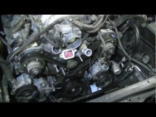 How To Change The Timing Belt In A Toyota V8 2UZ-FE / 3UZ-FE Tundra Sequoia LS430