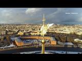 Петербурговедение: спасение ангела на шпиле Петропавловки