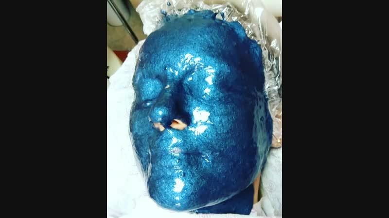 альгинантная маска против морщин с агрелином