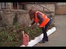 Цветы высаживают во дворах специалисты Рембытстройсервиса В Биробиджане РИА Биробиджан
