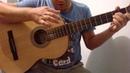 Уроки гитары.Бой четвёрка на гитаре