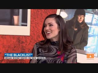 Megan Boone on the Today Show