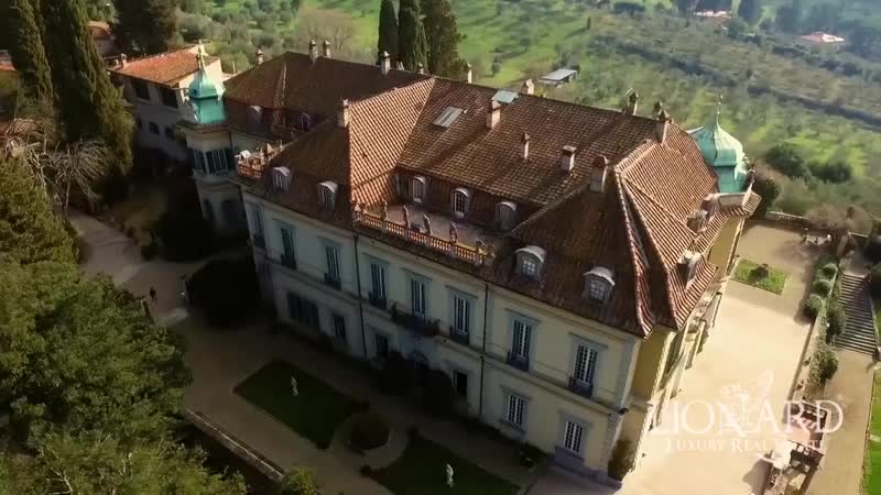 Majestic mansion near Florence, Fiesole, Italy