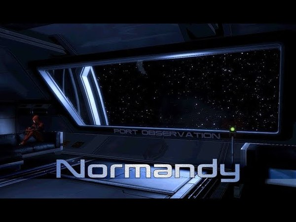 Mass Effect 2 - Normandy: Port Observation / Kasumi's Room (1 Hour of Ambience)