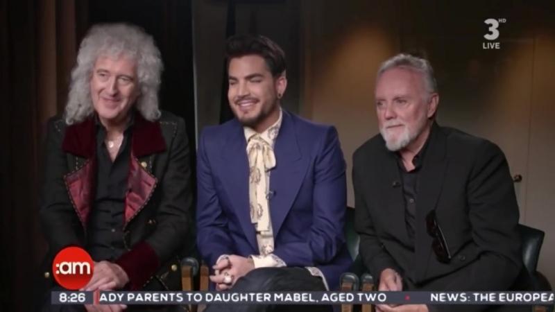 Queen and Adam Lambert interview on I r e l a n d AM 22-06-2018