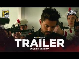 ENG | Трейлер: «Проповедник» — 3 сезон / «Preacher» — 3 season, 2018 | SDCC'18