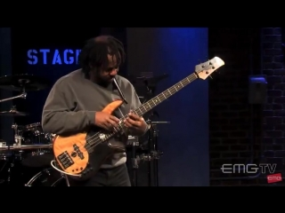 Victor Wooten - on bass totally blowing...