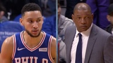 Ben Simmons' Trick Inbound Play, Doc Rivers SHOCKED! - 76ers vs Clippers | Januray 1, 2019