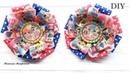 Бантики из репсовой ленты ЛОЛ Ribbons made of repot tape LOL