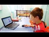 Роман (8 лет) считает ментально на скорости 700 мс в режиме гипермозга
