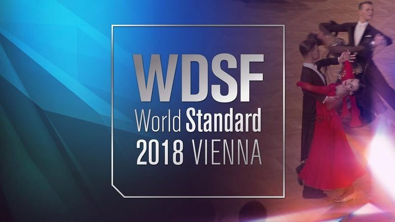 Abel - Galkina, EST   2018 World STD Vienna   R1 T