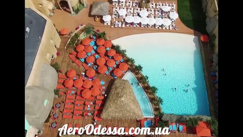 Aquapark Hawaii Arcadia Odessa 2016 Аквапарк Гаваи Одесса 2016 с высоты птичьего полёта