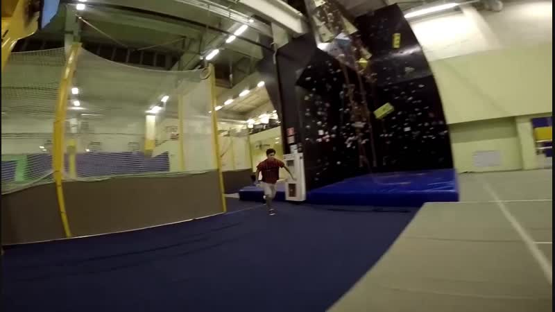 Freerun tricking freestyle