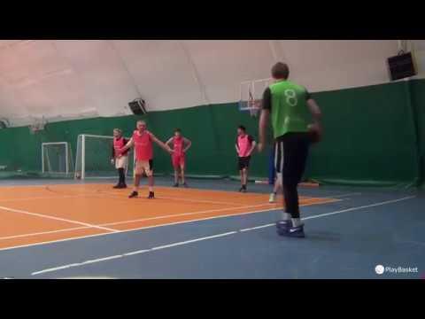 PlayBasket. Видеообзор 10.01.2019 (Метро Электрозаводская). Любительский баскетбол в Москве
