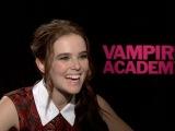 Интервью для «IAR» в рамках промоушена фильма «Академия вампиров» (2 февраля, 2014)