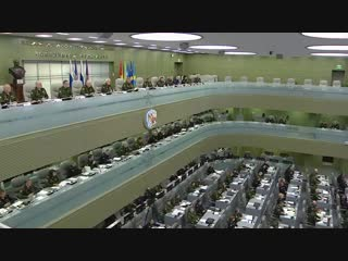 Селекторное совещание с руксоставом ВС РФ под председательством Сергея #Шойгу (4.12.2018)