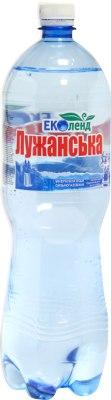 """Мінеральна вода """"Лужанська"""", Еколенд, 1.5 л"""