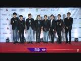 181028 EXO @ MBC Show Champion in Manila Red Carpet