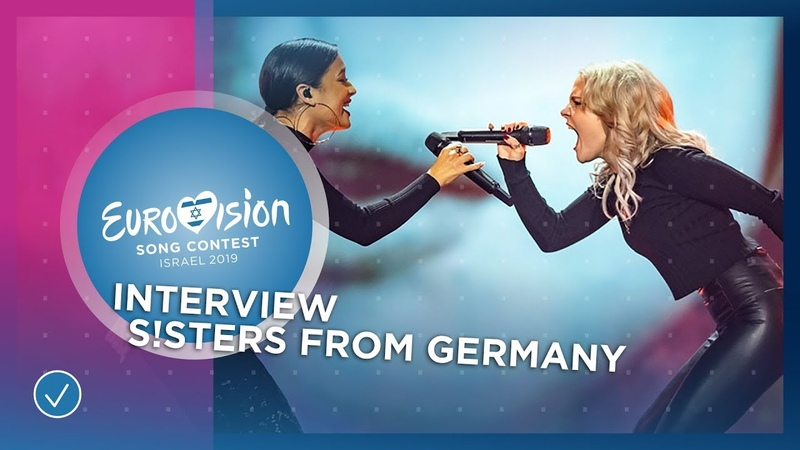 S!sters (Germany 🇩🇪) We are meme-ing the lyrics all the time! - Eurovision Song Contest 2019