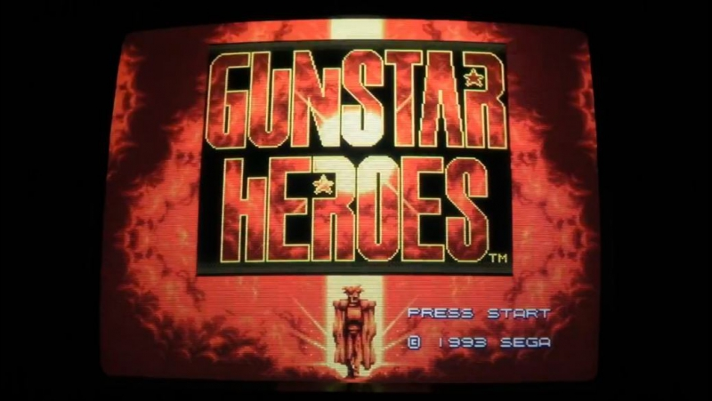 Gunstar Heroes (Megadrive, Japanese Version)