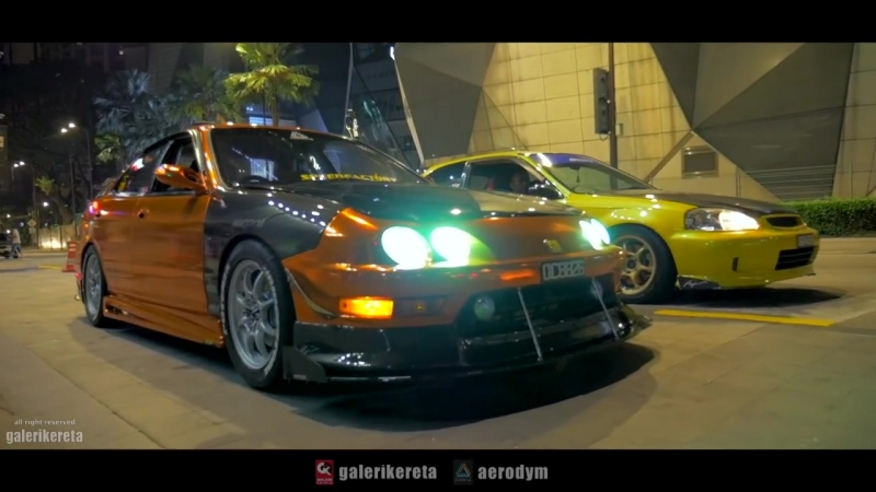 Welcome Home Integra DB8 feat Integra DC5 Type R and Civic EK9 Type R