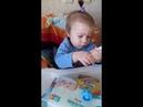 Видеообзор детский нагрудник для кормления часть 1