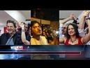 Ultimas Noticias: Gleisi e a militância do PTcantam refrão para Sergio Moro em Frente a Band