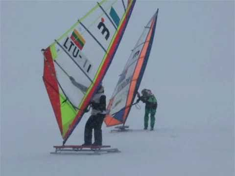 Winter Windsurfing European Cup 2011 Lithuania