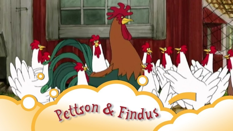 Pettson and Findus Rooster S1 E7 | WikoKiko Kids TV