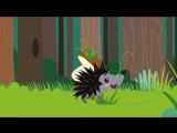 ЕЖИК - Развивающая веселая песенка мультик для детей малышей про животных