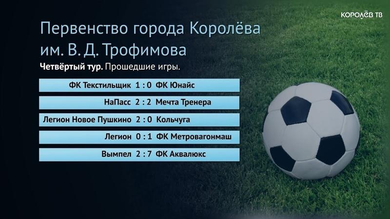 Стартовало Летнее первенство Королёва по мини-футболу