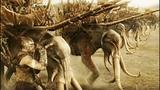 Харадримы на слонах нападают на Эорлингов Властелин колец Возвращение короля (2003)